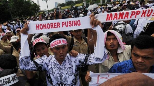 Tak Kunjung Gajian, ASN Pemkab Bengkalis di Duri Meradang