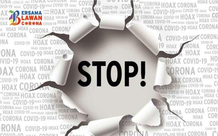 Tidak Mudah percaya Berita Hoax Covid 19, salah satu cara jaga Kesehatan Mental