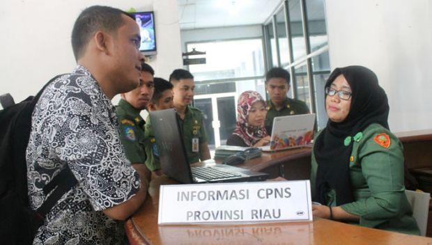 Pemprov Riau Ajukan 2.000 Formasi CPNS 2016 ke Pusat