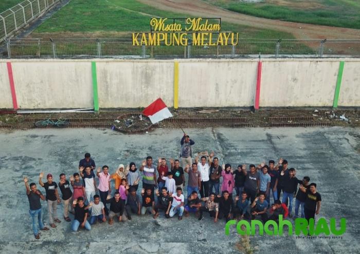 Pemuda Desa Air Putih Gelar Wisata Malam Kampong Melayu Season II