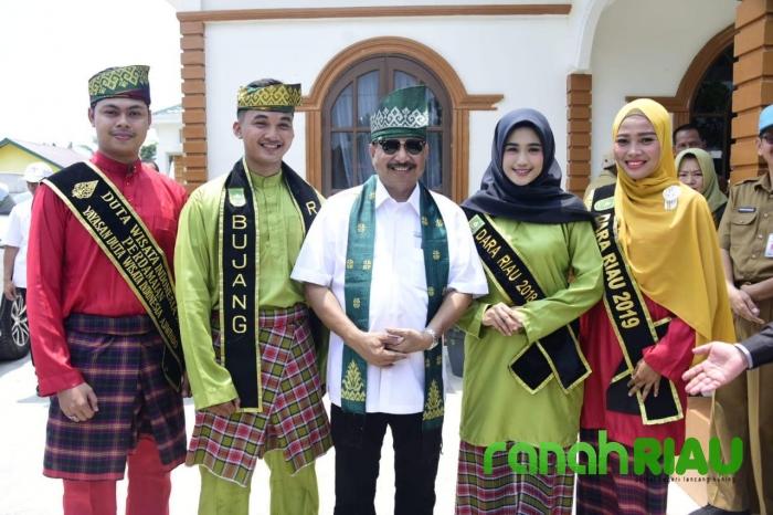 Menpar Kunker ke Pulau Rupat Kabupaten Bengkalis