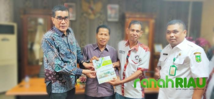 Audiensi, WPR Bersinergi Dengan Ketua DPRD Riau Definitif