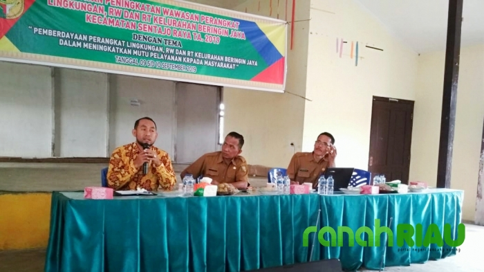 Dinsos-PMD Kuansing Dorong Kelurahan dan Desa Musdeskan Data BDT dan PKH