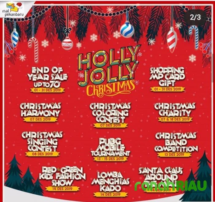 Holly Jolly Christmas, Event akhir tahun yang manjakan pengunjung