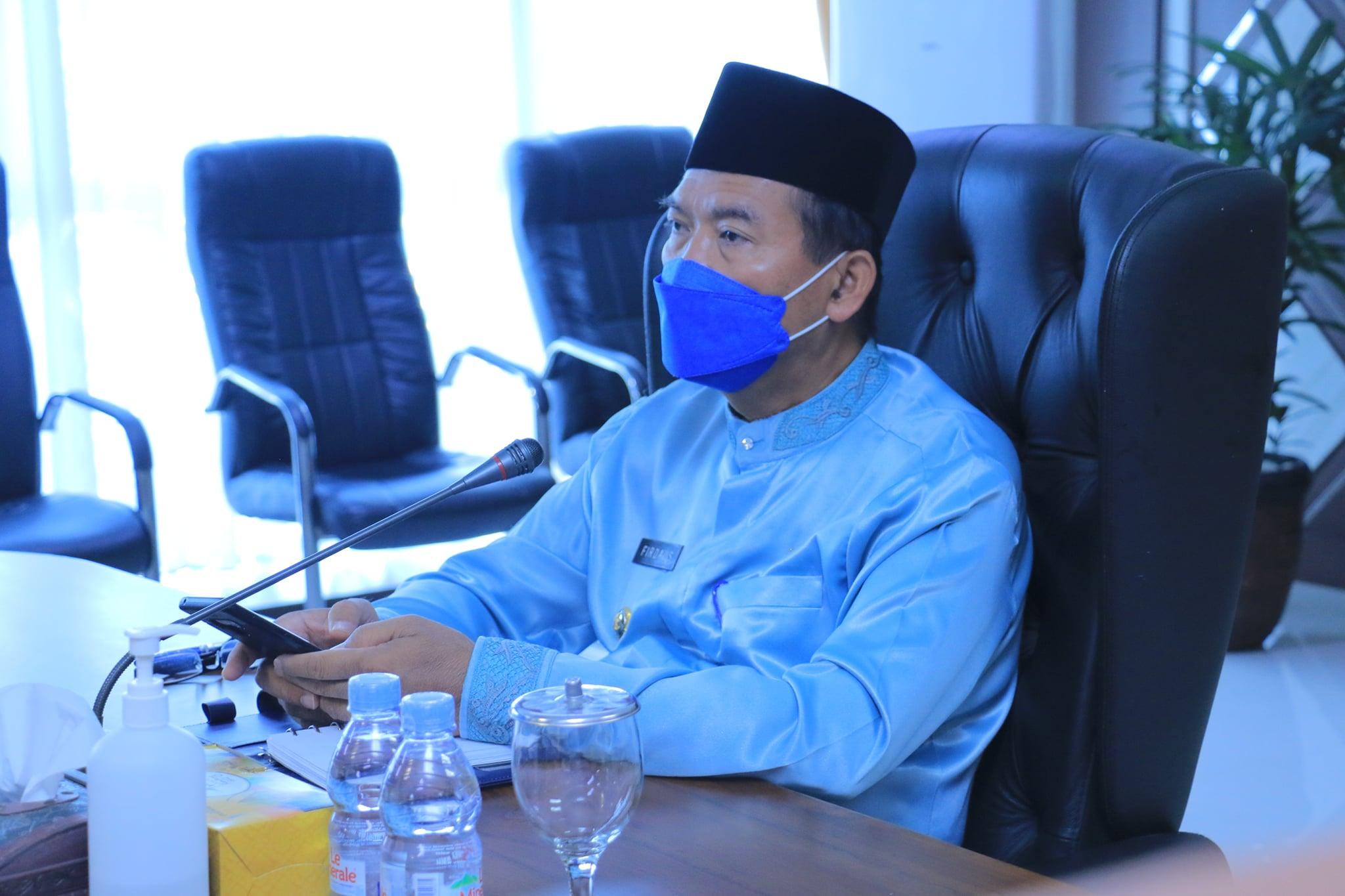 Walikota evaluasi Pendapatan Bapenda Kota Pekanbaru