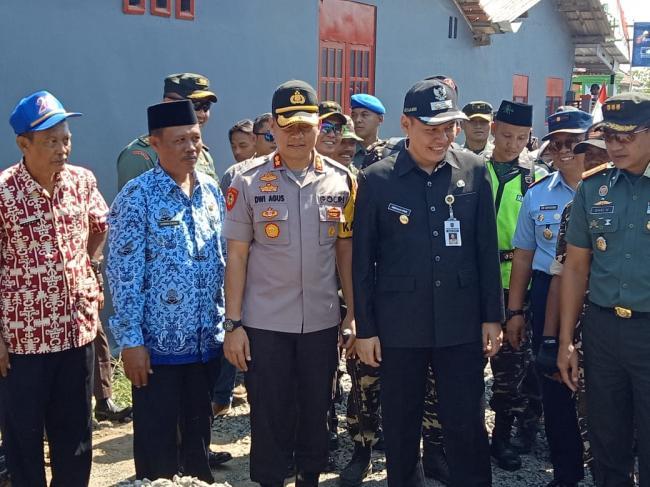 TMMD, Wabup Bangga Pada TNI Sukses Amankan Pemilu Di Tegal