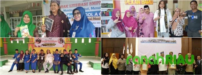 """Gol A Gong Akibatkan """"GEMPA"""" Literasi Di Pekanbaru"""
