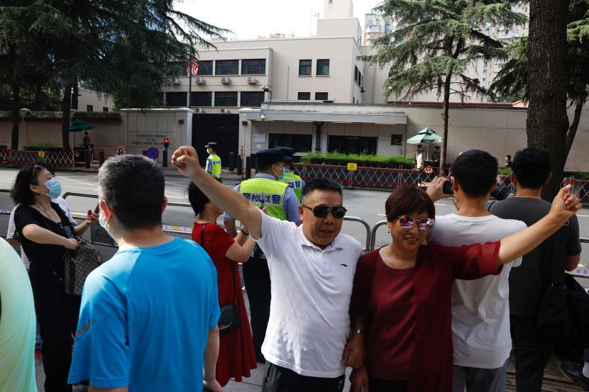 Pesan Perpisahan Kedubes AS Dicibir Warganet China