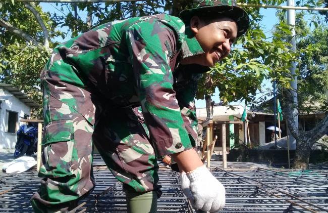 Bukti Kerja TNI TMMD ,Jalan Baru Makin Nampak, Harapan Baru Bukan Mimpi