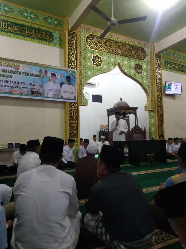 Tim Safari Pemko Bersilaturrahmi ke Masjid Siti Maryam