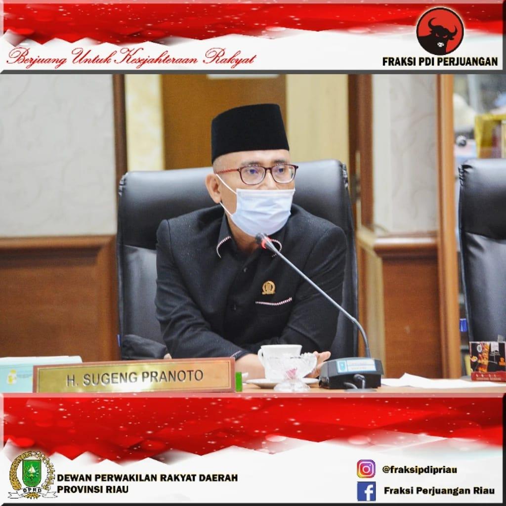 Dipimpin Sugeng Pranoto, Pansus Sepakati Pemutihan Pajak Ranmor