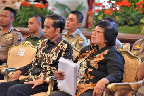 Beri pengarahan Nasional, Jokowi : saya malu dengan negara Jiran