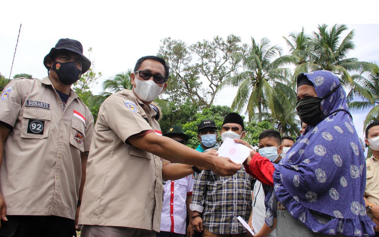 TLCI Chapter 2 Riau Berbagi, Santuni Anak Yatim Dan Fakir Miskin Di Siabu Kampar