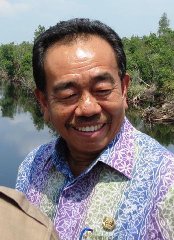 Pendemo Kembali Desak Usut Keterlibatan Bupati Bengkalis di Korupsi BLJ