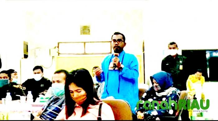 Ditanya Wartawan Ranahriau Soal PDAM, Pj. Bupati Bengkalis Sebut Begini