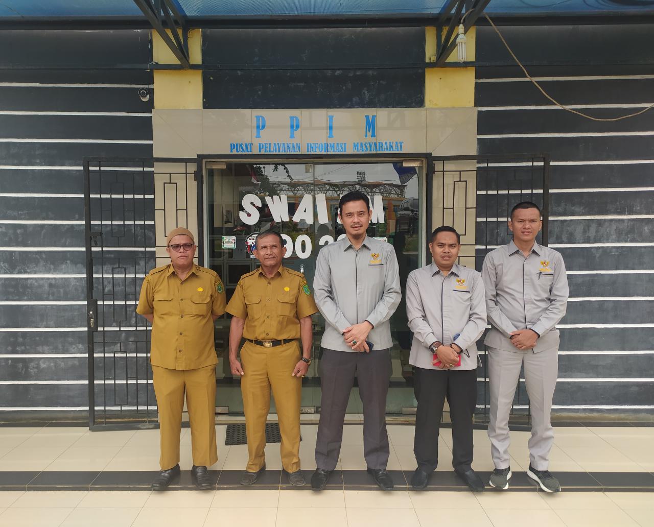 Visitasi Monev SAQ, KI Riau Sarankan PPID Utama Inhu Lakukan Uji Konsekuensi