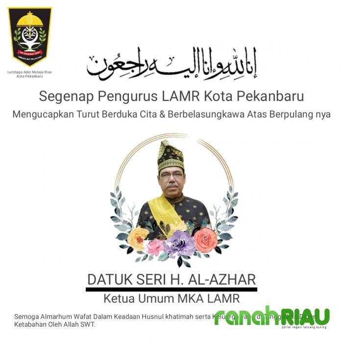 Innalillahiwainnailaihirajiun, Selamat Jalan Datuk Seri Al Azhar