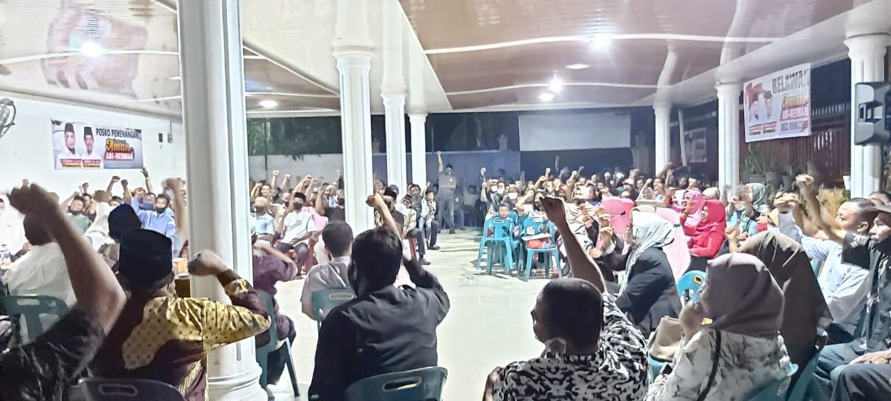 Dipandu JL Tobing, Teriakan Abi Bahrun Bupati Bengkalis Menggema