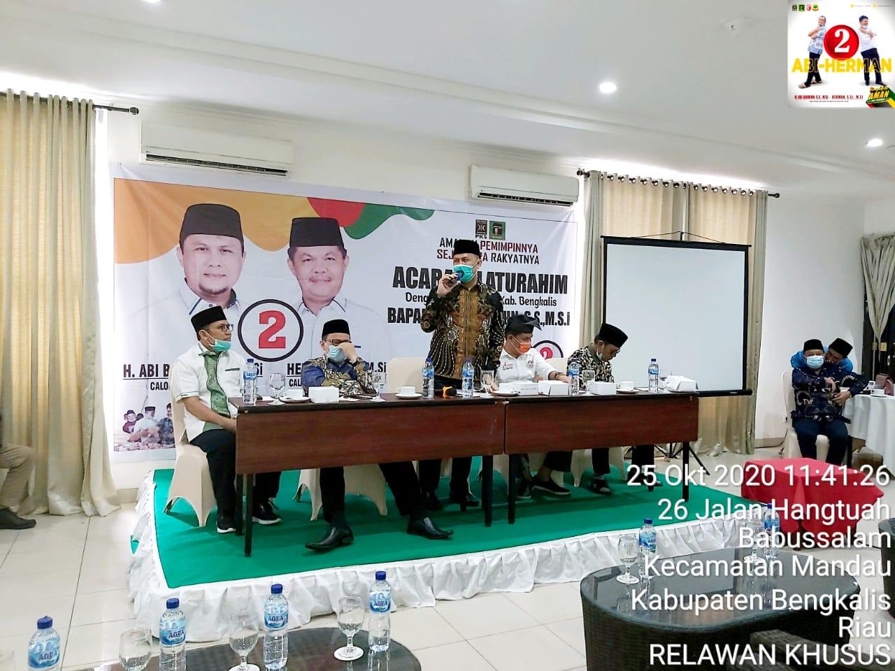 Buya Hamka Riau Serukan, Jadikan Abi Bahrun - Herman Bupati Bengkalis