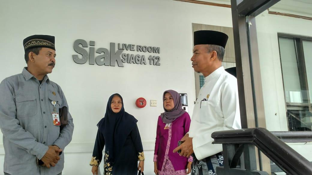 KI Riau Gelar Rapat Koordinasi dengan Sekda Siak Bahas Bimtek Para Kades