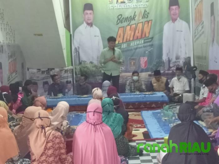 Dukungan dan Tekad Guru Madrasah Kecamatan Bengkalis, Siap Menangkan Paslon AMAN