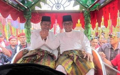 Suyatno-Jamiluddin Resmi Pimpin Kabupaten Rohil