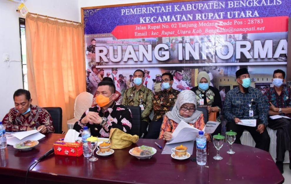 Pj. Bupati Bengkalis Zoom Meeting Bersama DPRD Provinsi Terkait RZWP3K