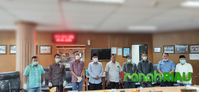 Konsultasi Pergeseran Anggaran, Komisi IV DPRD Inhu Sambangi Komisi V DPRD Riau