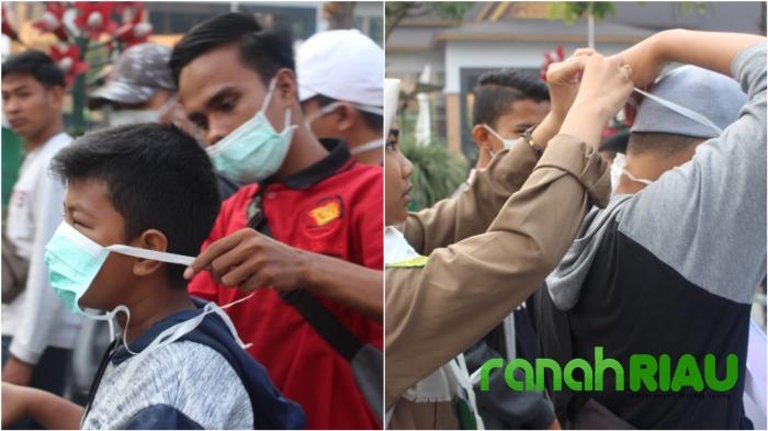 """Asap"" Kado Pahit Milad Provinsi Riau???"