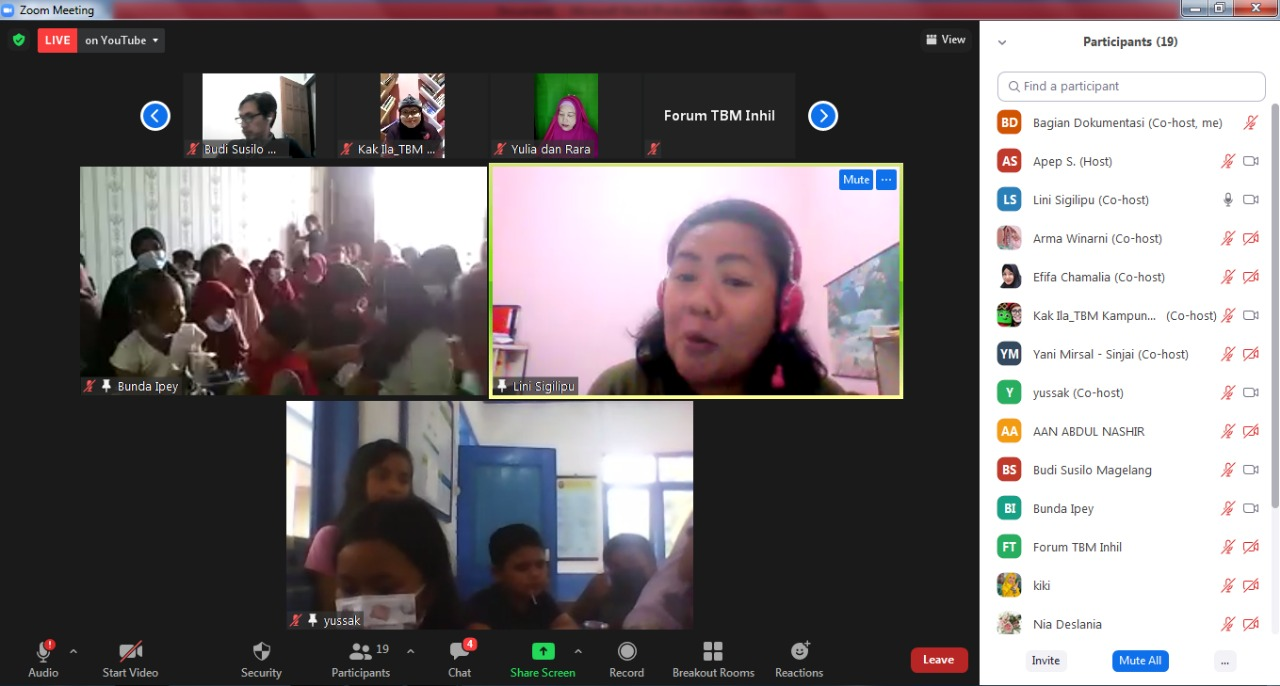 Webinar Literasi Digital Kota Pekanbaru Beri Pencerahan tentang Mahasiswa Cerdas Digital