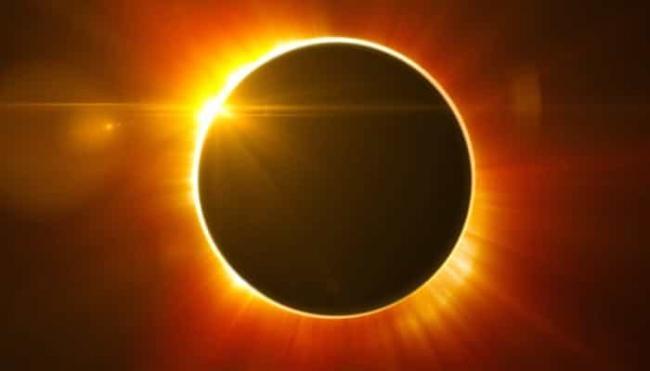 Gambar Bentuk Gerhana Matahari Cincin Yang Benar - Gambar ...