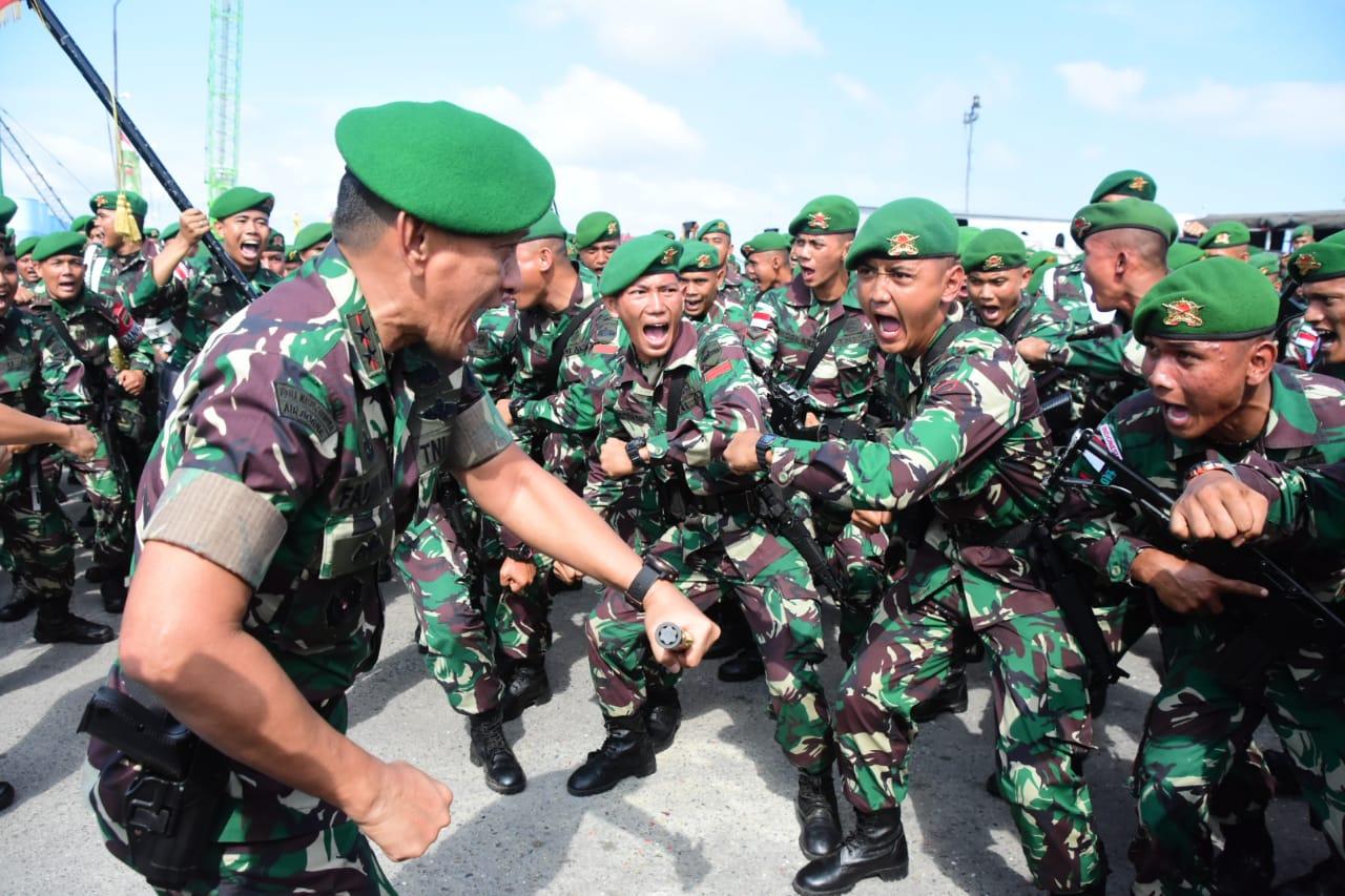Yonif 133/YS diberangkatkan ke Kalimantan Barat
