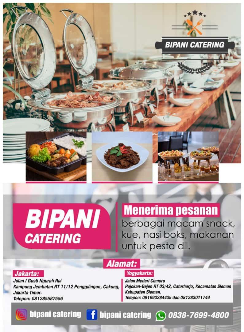 Bipani Catering Hadir di Jogjakarta