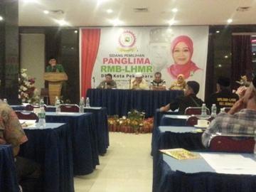 Said Zohrin Terpilih Jadi Panglima RMB-LHMR Pekanbaru