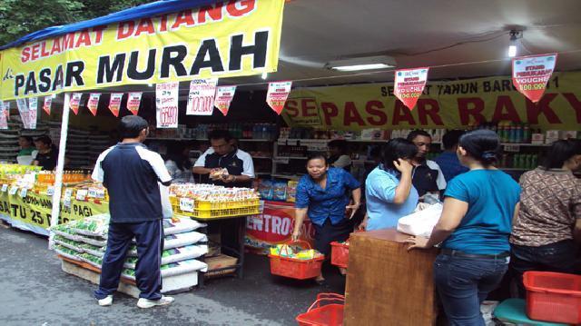 Kunjungi Beberapa Lokasi Pasar Murah di Riau Ini