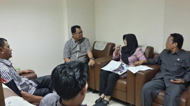 Anggota DPD RI Asal Riau Siap Bantu Pengajuan Ruangan Baru