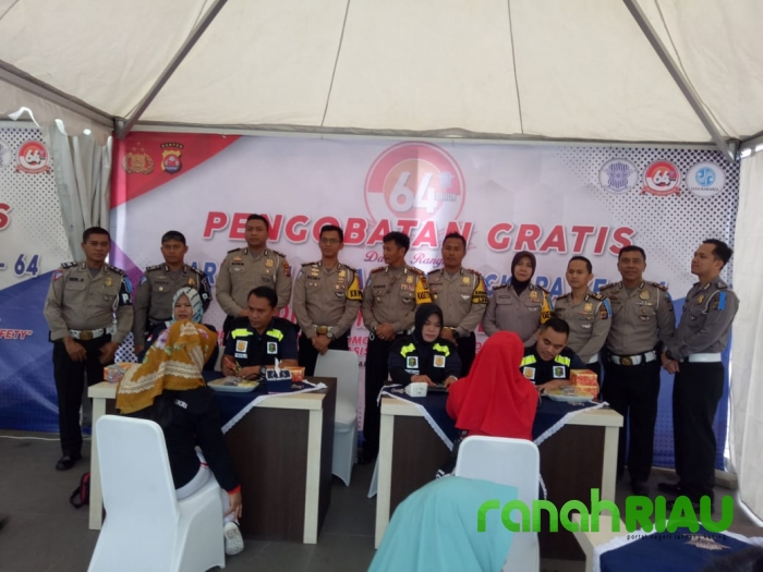 Polda Banten dan Polresta Tanggerang kolaborasikan Bhakti Kesehatan
