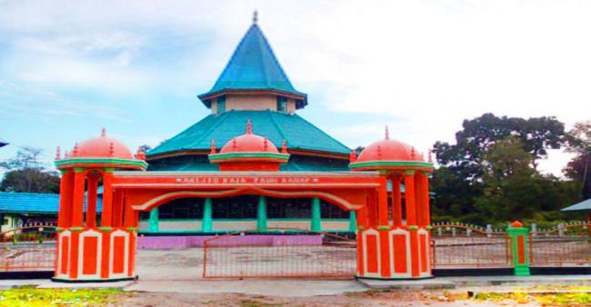 Masjid Raja Peranap, Peninggalan Kerajaan Indragiri yang Abadi