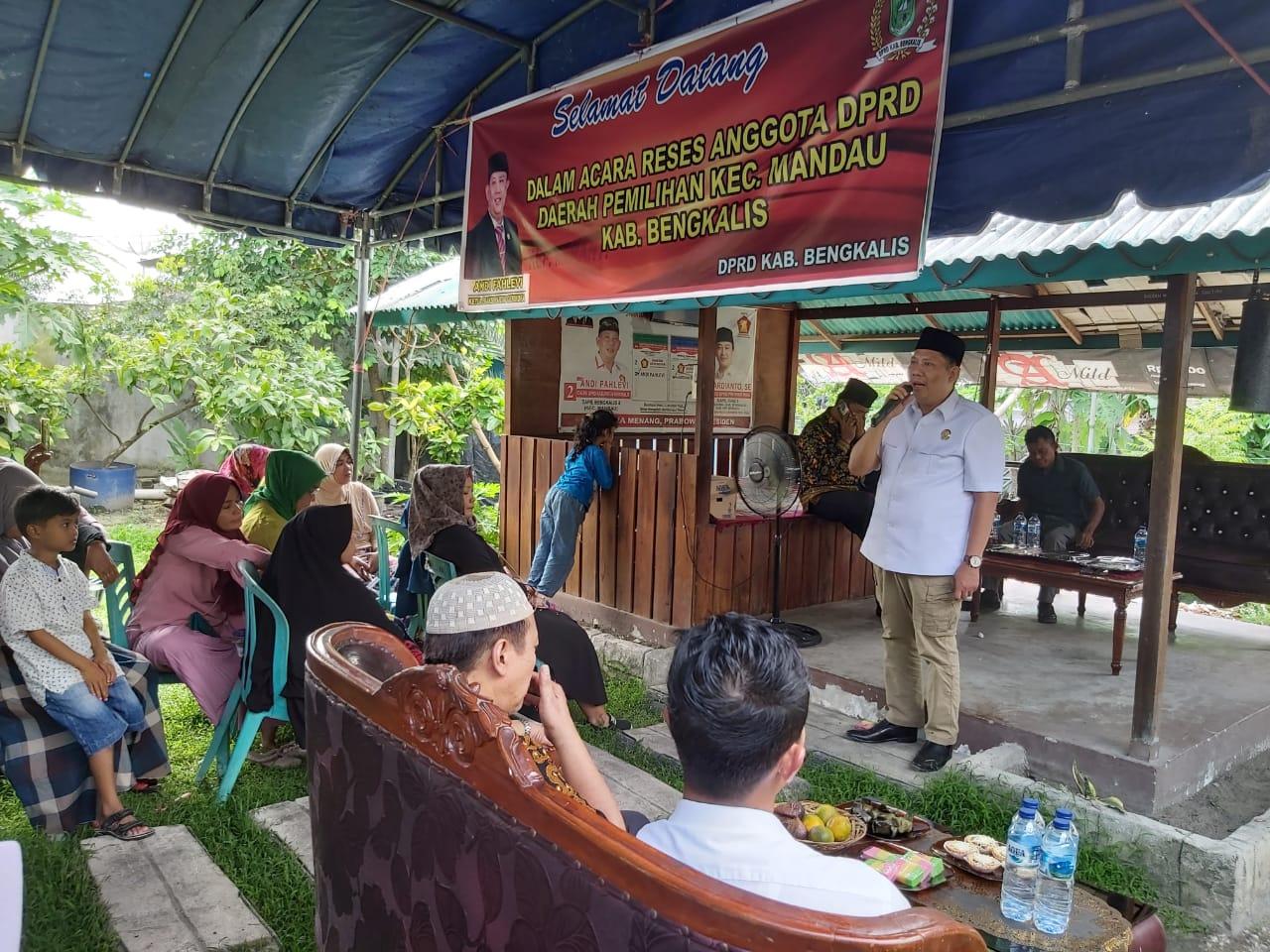 RESES, Dua Anggota DPRD Ini Kolaborasi Serap Aspirasi Kostituen Di Mandau