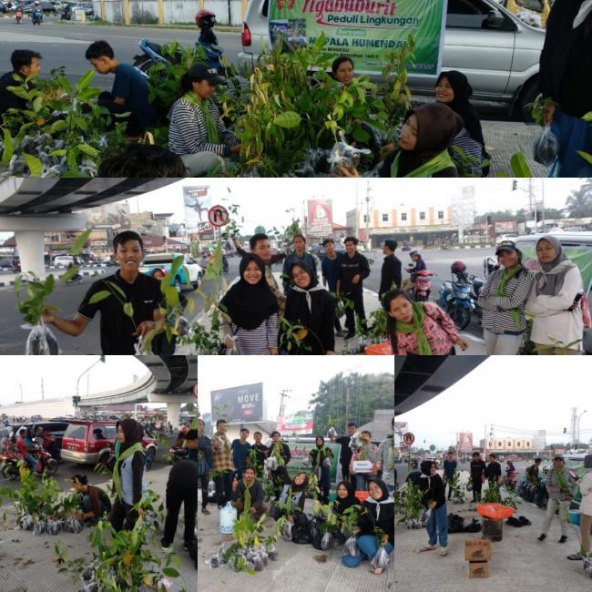 Mapala Humendala Universitas Riau gelar Ngabuburit Peduli Lingkungan