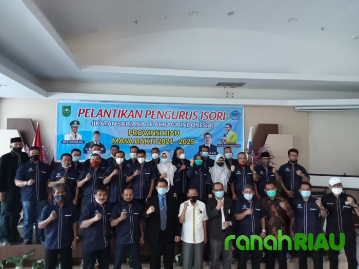 Pelantikan di Aulia Hospital, DR Masrur Zn, M.Pd resmi Nakhodai ISORI Provinsi Riau