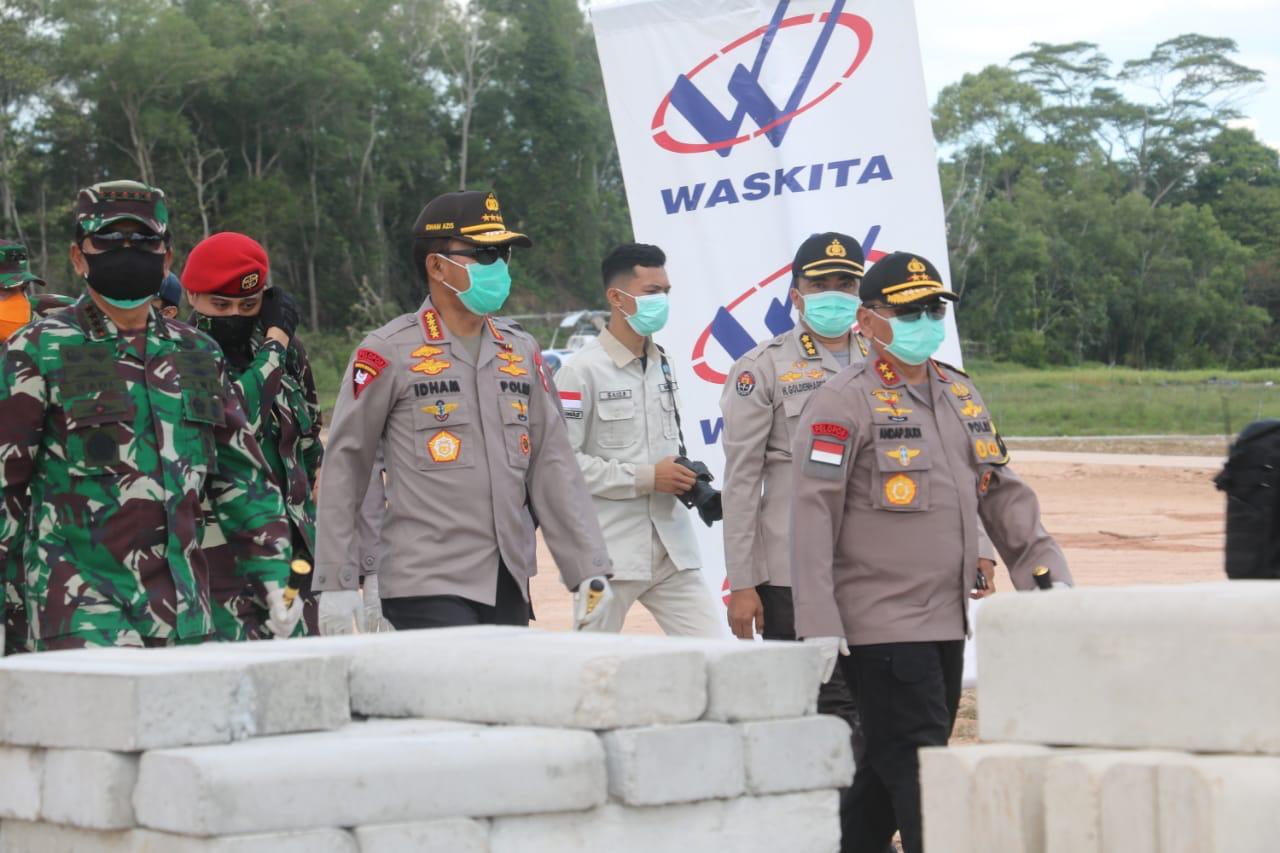 Tinjau Pembangunan RS Covid-19 Di Pulau Galang, Panglima TNI: Progres Sudah 78 Persen
