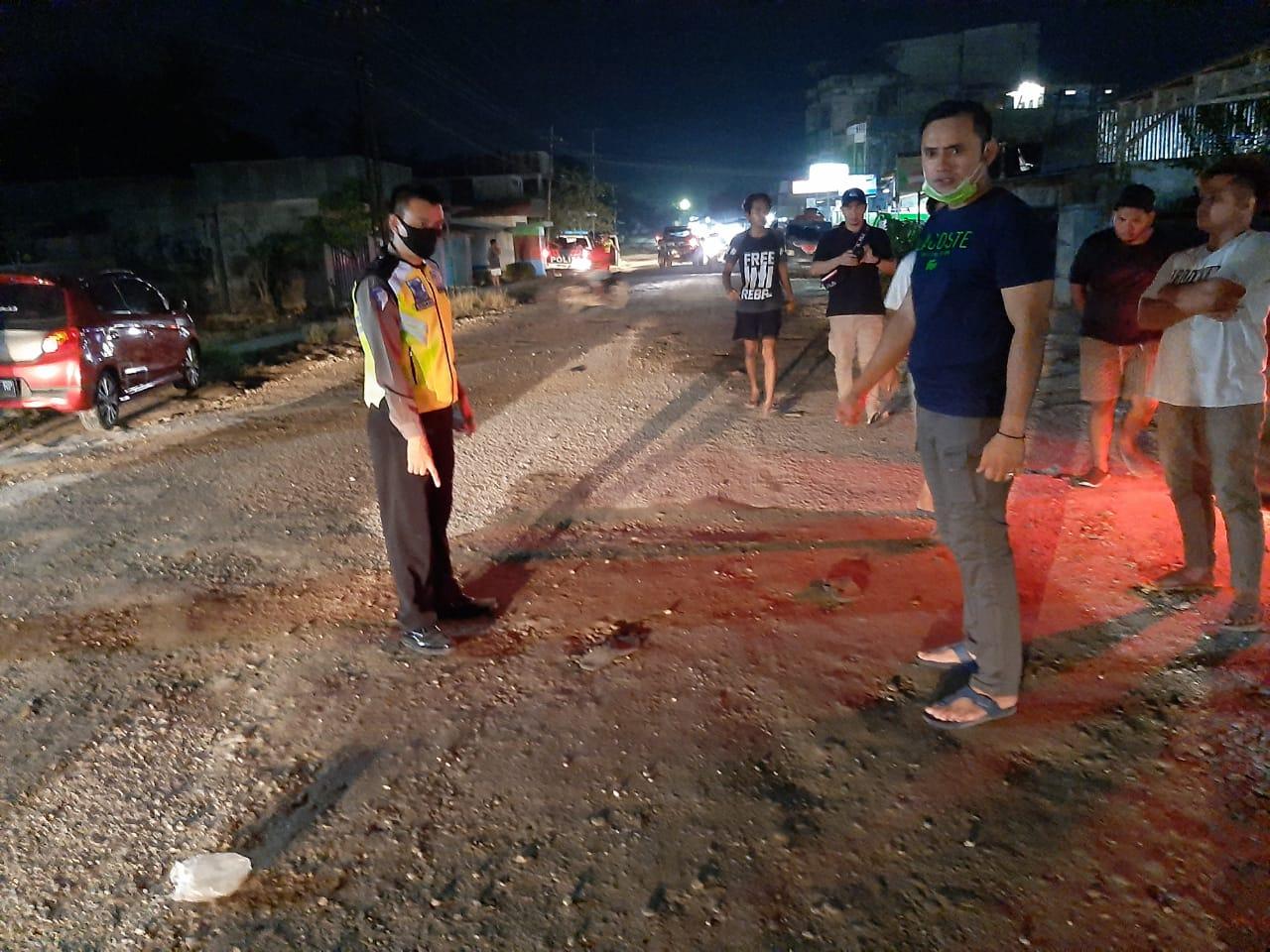 Satlantas Bengkalis Caritau Penyebab Laka, Mobil Lawan Dua Honda di Sebanga Duri
