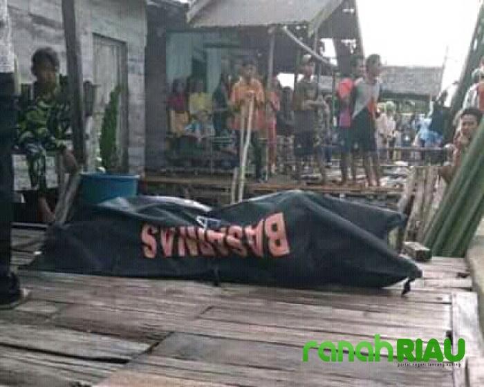 1 Korban Kapal Tenggelam di Inhil Ditemukan Meninggal Dunia