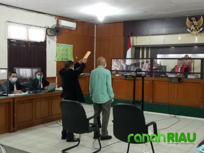 Sidang Lanjutan Kasus Ruang Pertemuan Hotel Kuansing, JPU Hadirkan Saksi Ahli PKN, dan Ahli LKPP