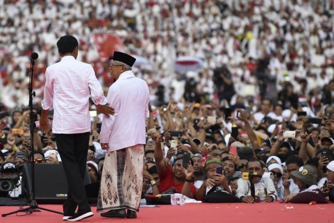 KPU Tetapkan Jokowi Amin Sebagai Pemenang Pilpres 2019
