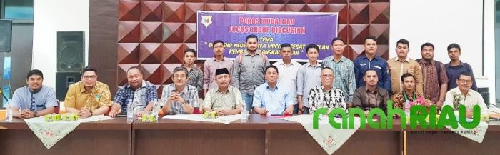 Poros Muda Riau gelar FGD Negeri kaya Minyak