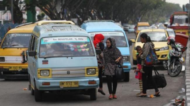 Tarif Angkutan Pekanbaru Turun Rp500 Berlaku Mei
