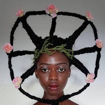 Seniman Pantai Gading Sulap Rambut Afro dalam Bentuk Unik 1d2686172d