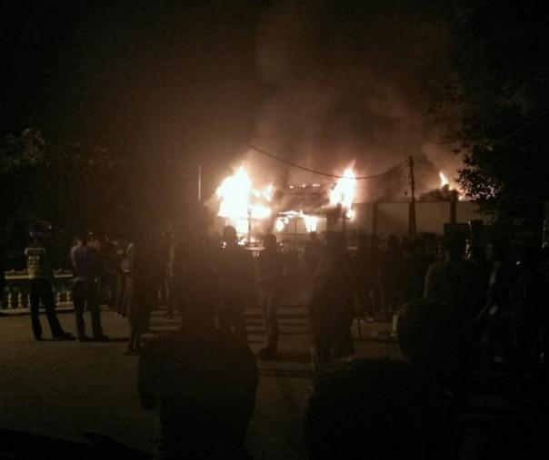 Buntut dari Kerusuhan di Rutan Siak, Kasat Narkoba tertembak dilengan